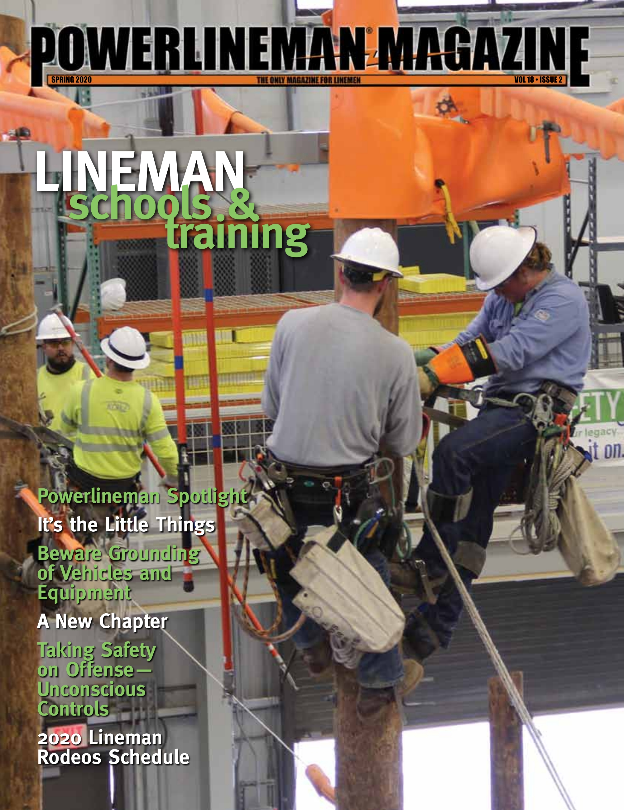 Powerlineman Magazine Spring 2020 Cover