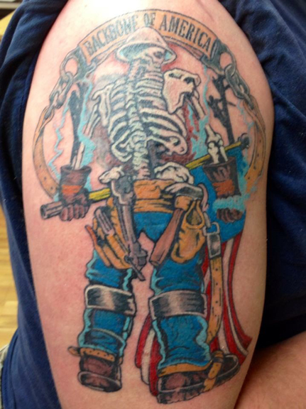 lineman tatoo 2